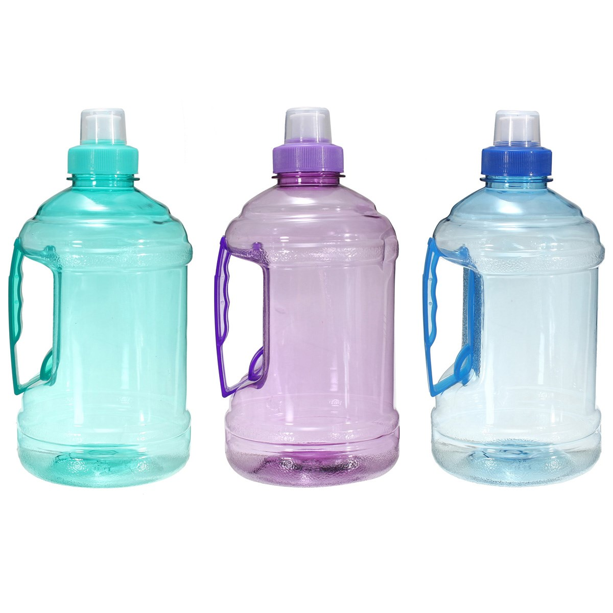 1L/2L Drink Plastic Big Large Water Bottle For Sports Picnic Bicycle BPA Free plastic