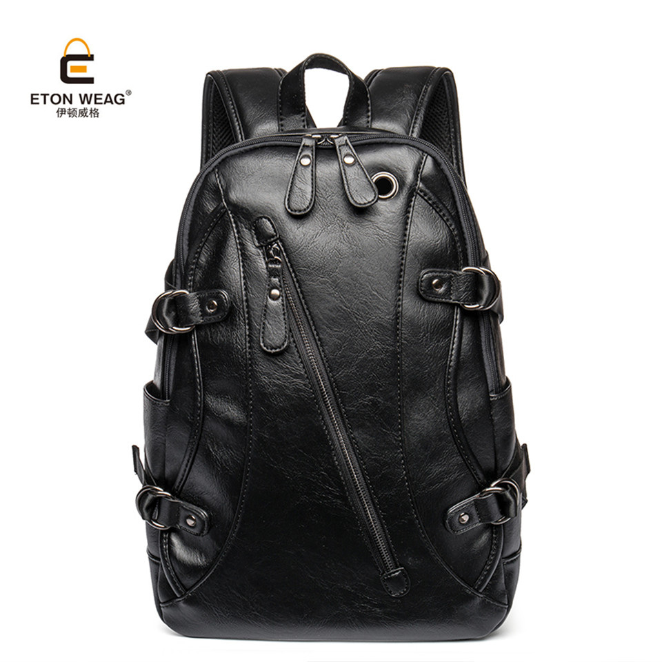 Etonweag 2017 брендовая мужская сумка-рюкзак водонепроницаемый портативный Рюкзаки Мода элегантный дизайн студент Многофункциональный школьны...