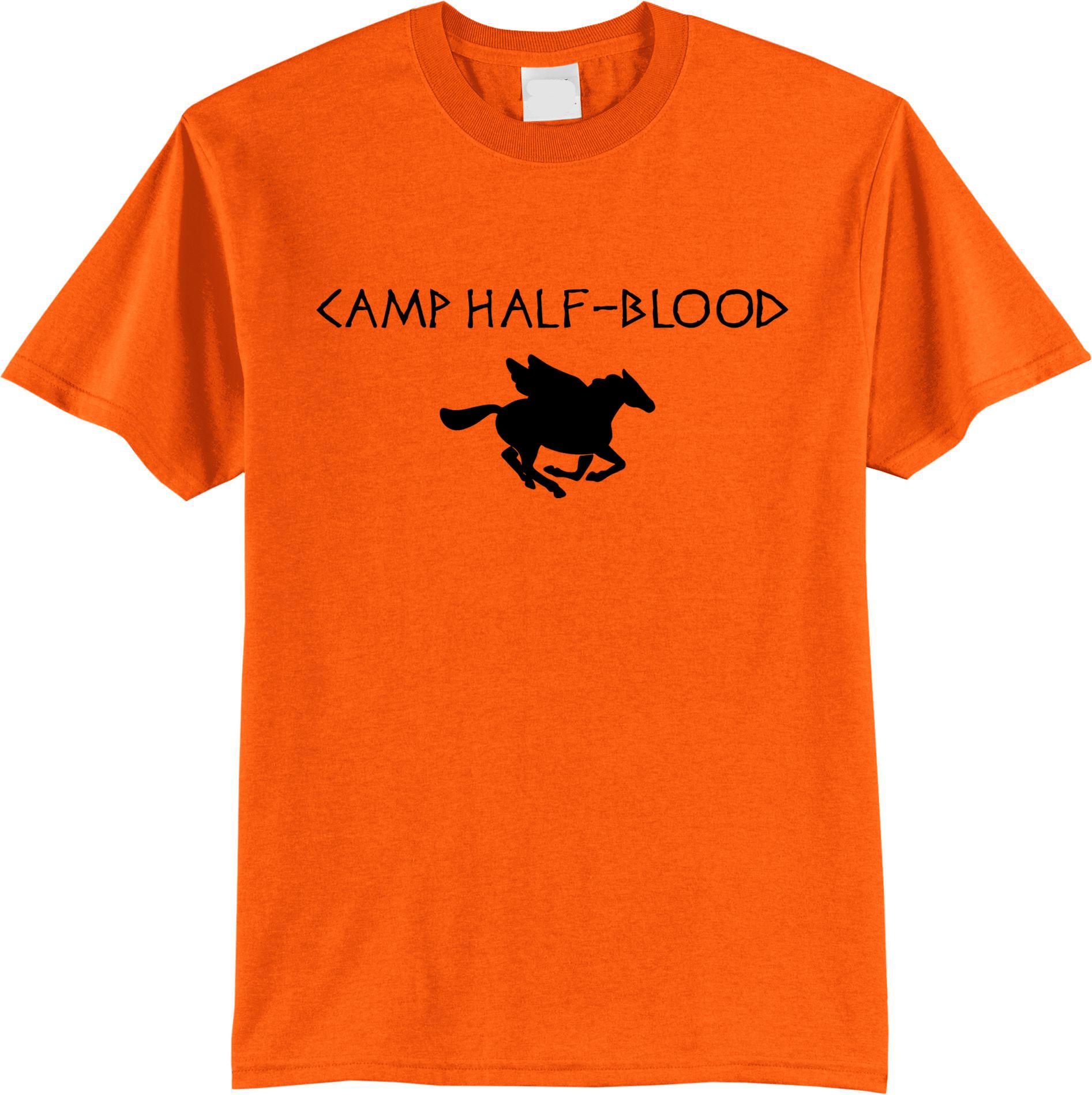 Camp Half Blood  T SHIRT  TEE TSHIRT Womens Unisex Fashion T Shirt