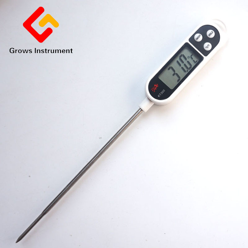 Electronic Digital Thermometer Instruments Stainless Steel Probe Household Thermometer Sensor For Kitchen Cooking Food BBQ