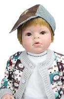 Npk коллекция 70 см большой ручной sumilation настоящее продажа reborn baby doll fashion хип хоп посадки волосы reborn baby dolls