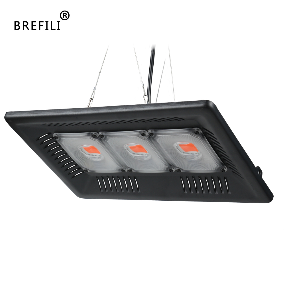 BREFILI LED COB Grow Light Full Spectrum Grow Floodlight For Indoor Plant Lamp Seedling Greenhouse IP67 100W 200W 300W Led Grow