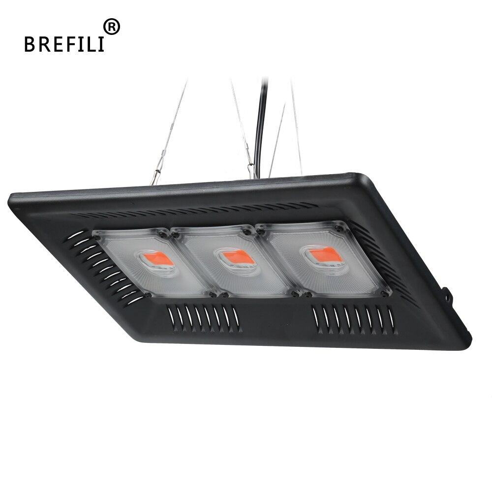BREFILI LED COB Grow Light Full Spectrum Grow Floodlight For Indoor Plant Lamp Seedling Greenhouse IP67 100W 200W 300W Led Grow