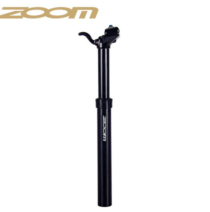 Zoom Manual Dropper SeatPost Lever Height Adjustable Hydraulic Drop 30 9mm 31 6mm Hand Control Seat