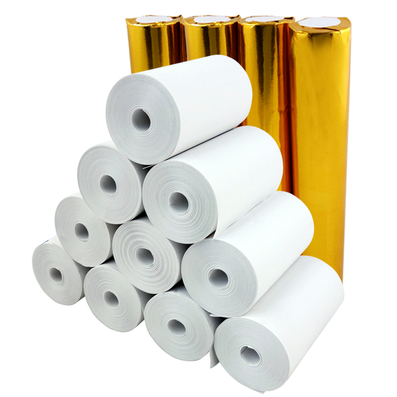 2 1/4 x 30 Coreless Thermal Paper (20 Rolls) mobile pos machine paper 57x30 cash register paper