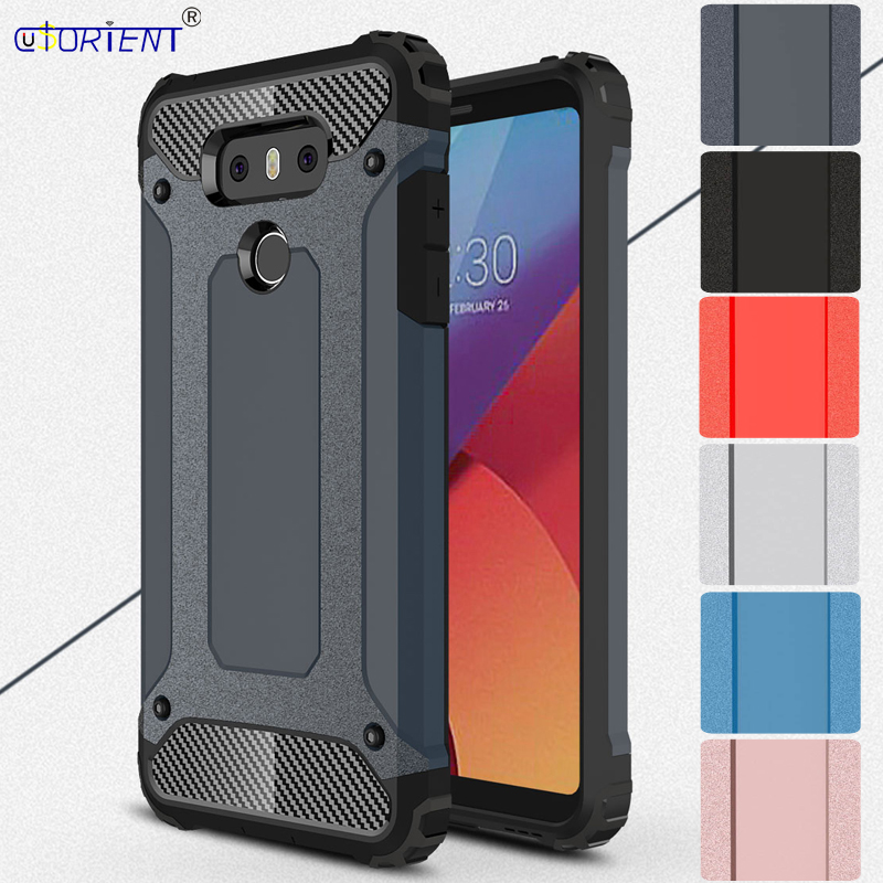 Armor Hard Plastic Case for LG G6 H870 LGH870DS LGH870S Phone Case for LG G 6 H 870 LG-H ...