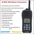 BUOYANT Waterproof IC-M33 VHF Marine Transceiver