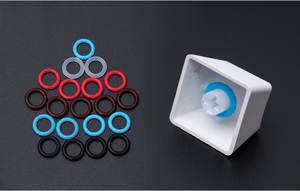 Image 1 - 104 Cái/gói Im Lặng Vòng Cao Su Giảm Tiếng Ồn Hấp Dẫn Vòng Silicone Cho Keycap Cơ Chơi Game