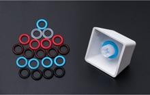 104 pz/pacco Silenzioso Elastico Anello di Riduzione Del Rumore Assorbimento Degli Urti anello di Silicone per Keycap Tastiera Da Gioco Meccanica
