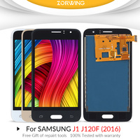j120f lcd For SAMSUNG GALAXY J1 2016 LCD J120F J120 J120M J120H Display Touch Screen Digitizer for Samsung J120F LCD Screen