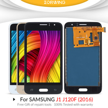 j120f lcd For SAMSUNG GALAXY J1 2016 LCD J120F J120 J120M J120H Display Touch Screen Digitizer for Samsung J120F LCD Screen hot selling j120 lcd for samsung galaxy j1 2016 j120f sm j120f j120h lcd display touch screen digitizer for samsung j1 j120f