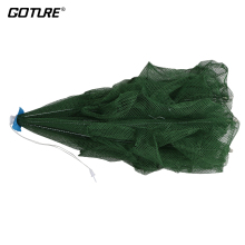 Goture Automatic Folding Fishing Net 12 16 18 Holes Crab Lobster Shrimp Fishing Network PE Cast Net Cage