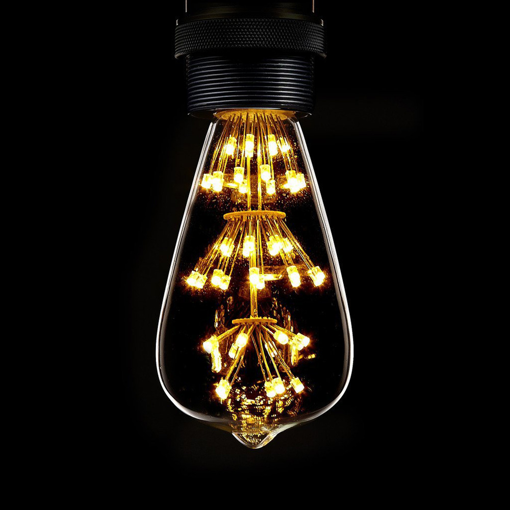 Led Bulb Light Ac 220v E27 30w High Quality Warm Light For Holiday Christmas Festival Decorations