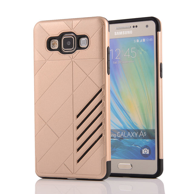 Case For Samsung Galaxy A5 2015 Rhombus Combo Case For Samsung A5 2015 SM-A5000 A5009 A500F/FU/M/Y/YZ/FQ/F1/K/S/H/FD/G/M Cases