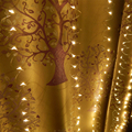 Holiday Lighting 0.9M 6*3M 30LEDs Waterproof Copper Wire String Lights LED Curtain Light For Festival Christmas Decoration