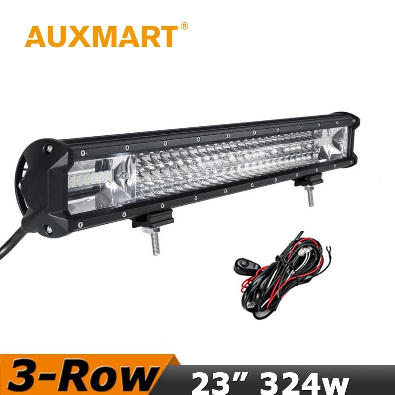 Auxmart CREE Chips LED Light Bar 23