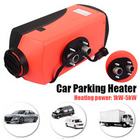 Oil Fired Heater Air Heater Durable Vehicle Heater Trailer Trucks 10L Tank Diesel Quiet 12V 5000W
