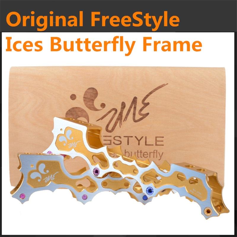 [FreeStyle Original] 100% Original FreeStyle Ice Butterfly Inline Skate Frame Base for FSK Slalom Skating Patins