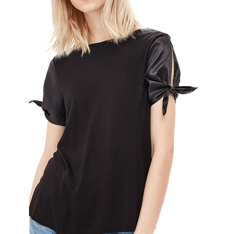 Blouses & Shirts MODIS M181W00402 women blouse shirt  clothes apparel for female TmallFS t shirts befree shirt for female cotton shirt short sleeve women clothes apparel 1811579424 54 tmallfs