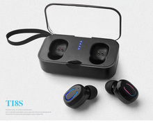 Mini Bluetooth Headset Stealth Wireless Stereo in-ear headset with Charging Box Waterproof Gaming  Auto Power