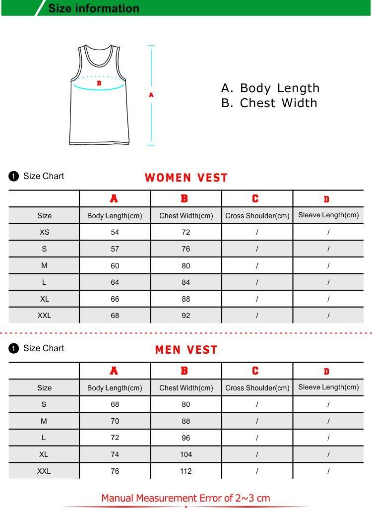 Vest Size
