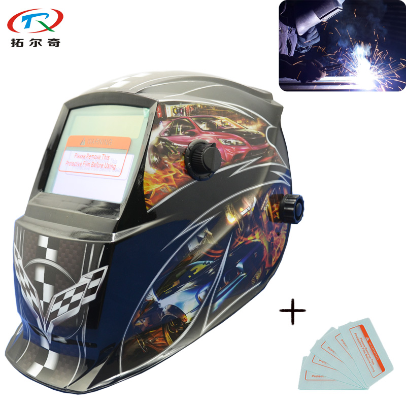 Sporting External Protector Plate Sheet Free Mig Welding Helmet Welder Cap Auto Darkening Mask Electric Protection Tools Accessory Parts Tools Welding Helmets