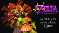 Legend Of Zelda FIGURE Majora S Mask FIGURE 3D Limited Edition Bundle Nintendo 3DS