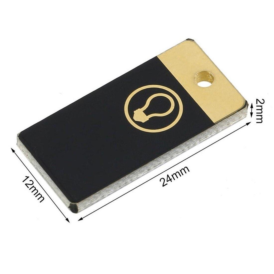 USB мощность 5 шт. Ночная лампа Мини карманная карта LED брелок ночник 0,2 Вт Светодиодная лампа USB книга свет для ноутбука ПК Powerbank