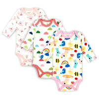 Baby Bodysuits Boys Girls Baby Clothing Set Infant Jumpsuits Newborn Baby Clothes 100 Cotton Cartoon Overall