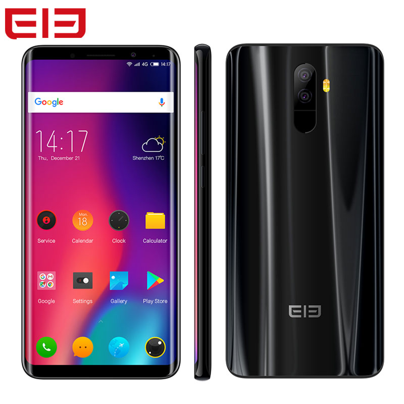 Elephone U Pro Smartphone 5.99''Face ID NFC Android 8.0 6GB RAM 128GB Octa Core 2160*1080 13.0MP Fingerprint Lte 4G Cell Phone