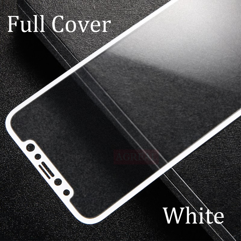 Image 2 - Full Cover Matte Tempered Glass For iPhone X XS Screen Protector Oleophobic Coating No Fingerprint Frosted 9H Toughened Glass-in Phone Screen Protectors from Cellphones & Telecommunications