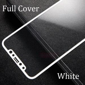 Image 2 - Tam Kapak Mat Temperli Cam iPhone X XS Ekran Koruyucu Oleofobik Kaplama Parmak Izi Buzlu 9 H Sertleştirilmiş Cam
