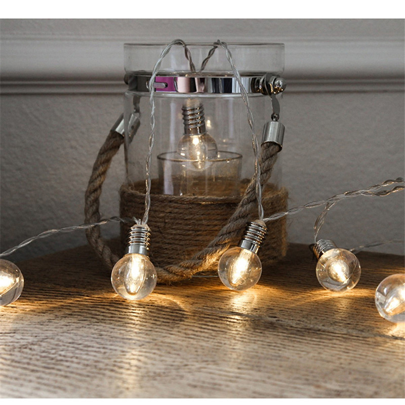 Retro 3M 1.5M Led Flexible String Wedding Fairy Holiday Light Edison Vintage Festoon Bulb Led For Garland Party String Lights
