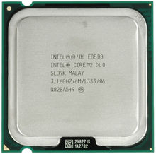 100% Working Intel Core 2 Duo E8500 Processor SLB9K SLAPK 3.16GHz 6MB 1333MHz Socket 775 cpu