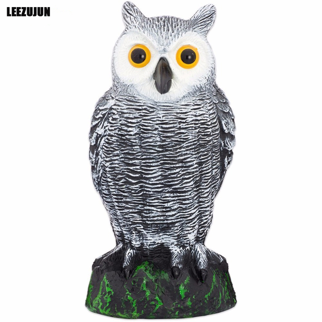 Nice Natural Enemy Scarecrow Great Horned Owl,Pest Repellent Garden Scarecrow