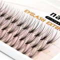 NAVINA New Arrival Luxury Eyelashes 6d Natrual mink hair silk lashes eyelash extensions fake lashes 0.07 thickness
