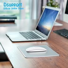 цена на Brand New high quality aluminium alloy mouse pad small size 240*180mm