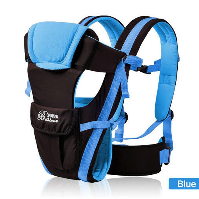 0-30 months Baby Carrier Kids Sling Backpack Wrap Front Facing ,Multifunctional Infant Kangaroo Bag