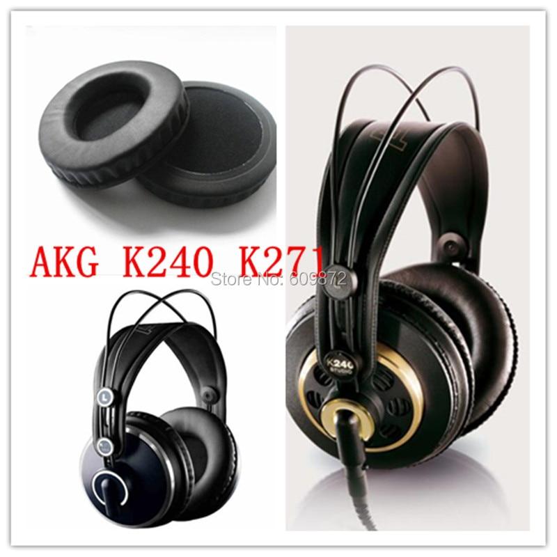 Linhuipad 100-105mm Protein Ear Cushions almohadillas de cuero para - Audio y video portátil