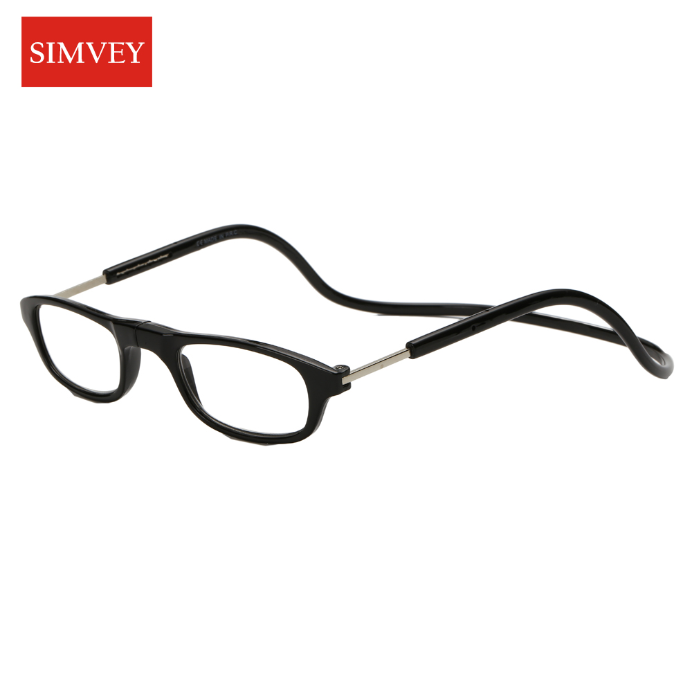 Simvey 2017 Folding Magnetic Reading Glasses Women Men Magnet Reading Glasses Mini Folding Reading Eyewear Gift For Parents