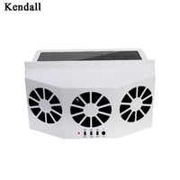 Solar Powered Vehicle Exhaust Fan Solar Energy Cooling Car Vent Ventilator Safe Auto