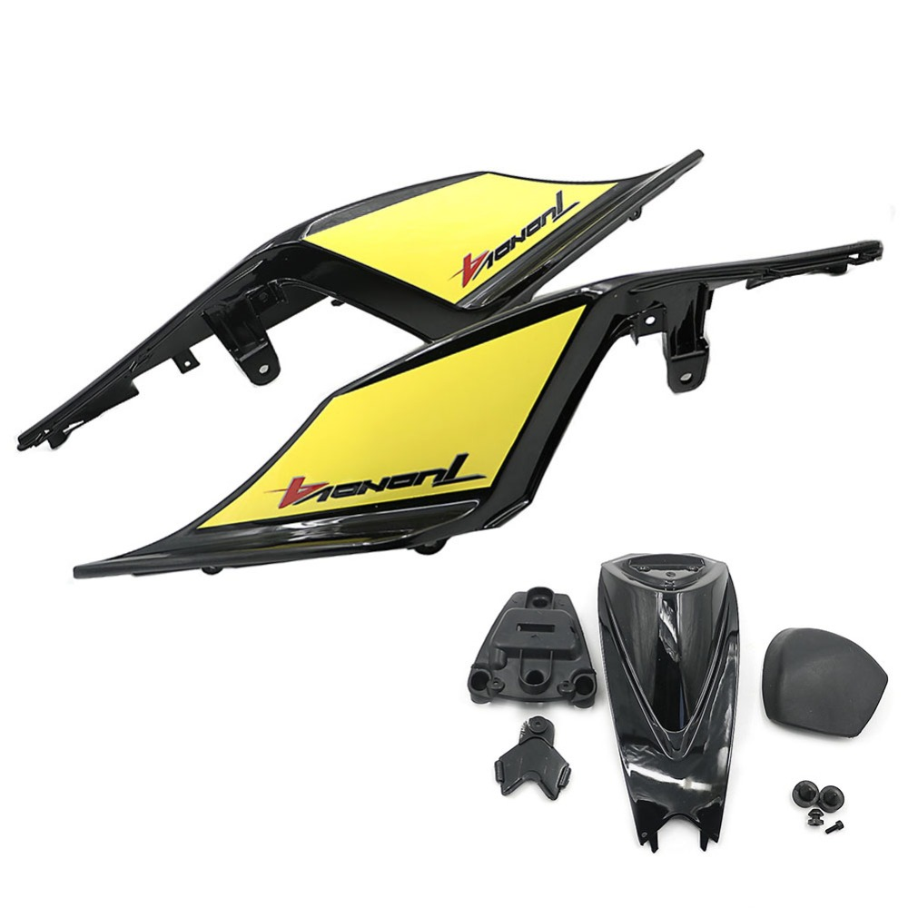 Motorcycle ABS Plastic a set Right and lifte Rear Tail Fairing Cover Fit for Aprilia RSV4