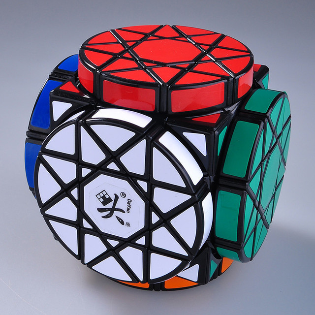 Rueda de Sabiduría Dayan Cubo Mágico Negro Puzzle Educativos Niños Juguete Del Rompecabezas Profesional cubo mágico Twisty Venta Caliente