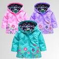 Розничная продажа + бесплатная доставка! Толстовки для девочки, Куртки для девочки, Верхняя одежда и пальто, Детское пальто, Весна - осень