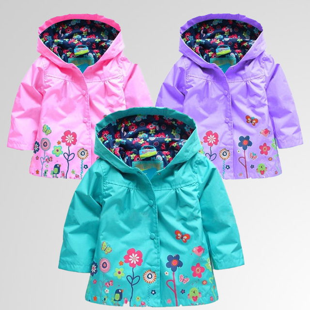 Retail+Free Shipping! Girls Hoodies, Girls Jackets, Outerwear & Coats, Children's Coat, Spring Autumn Baby Coat Girls,Girls Coat