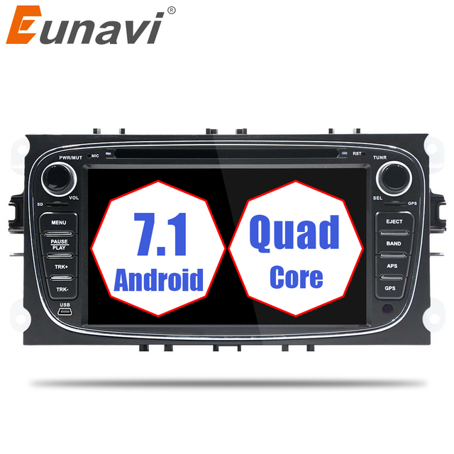 Eunavi Din Android Car DVD Player Online Map GPS Navigation - Navigation map online