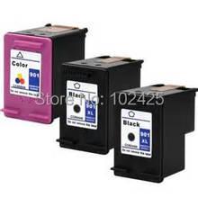 3 PK 901XL Ink Cartridge for HP 901 Ink Cartridge Printer For HP Officejet J4580 J4500 J4524 J4530 J4540 J4550 J4580 J4640 J4680 картридж hp cc654ae 901xl black для j4580 4660