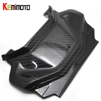 KEMiMOTO For Yamaha MT 07 MT07 Rear Tail Panel Twill Weave Real Carbon Fiber FZ 07