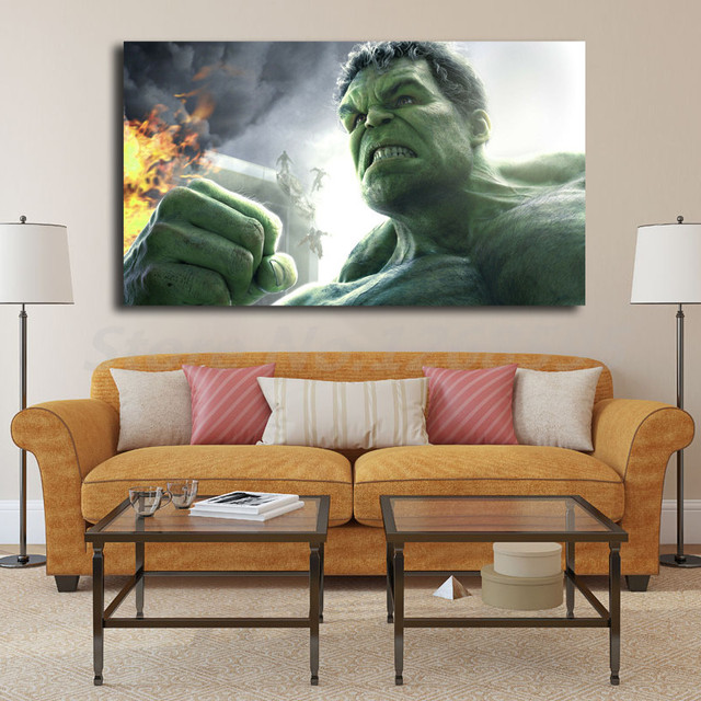Classy Hulk On Fire Hd Wallpapers Wall Art Canvas Poster And Print