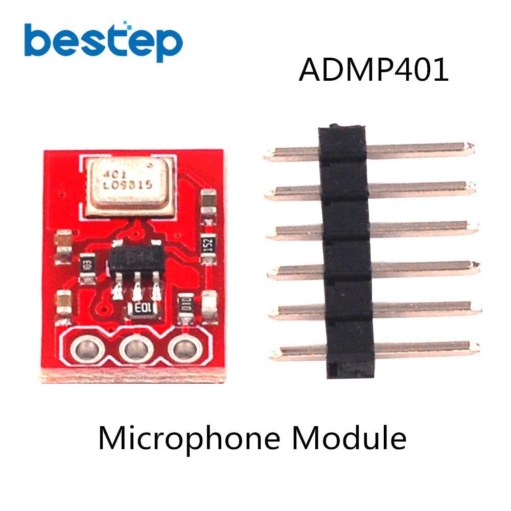 ADMP401 MEMS Microphone Breakout Module Board for Arduino ADMP401 MEMS Microphone Breakout Module Board for Arduino
